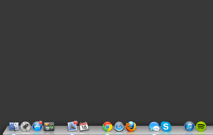 Sort your dock, add blank space