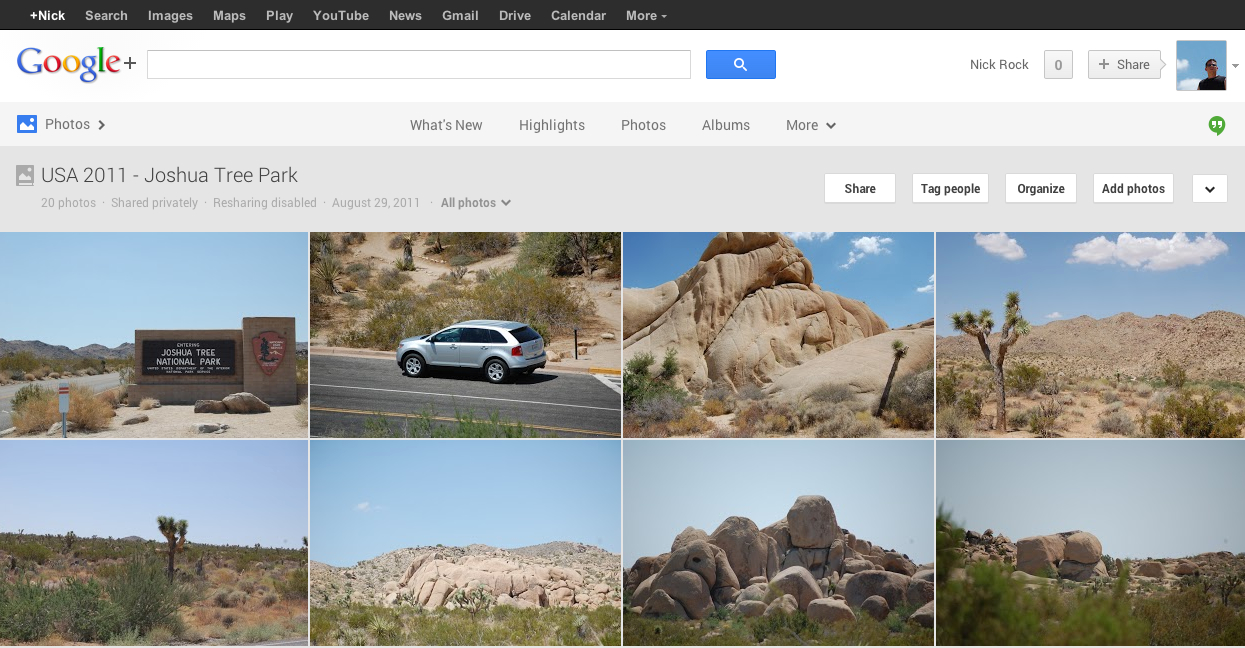 Google+ Photos – The Easy Way